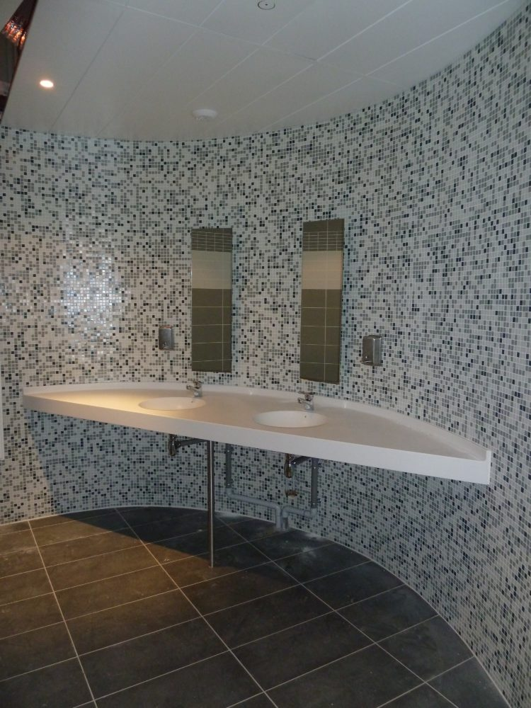 Double vasque en Corian®