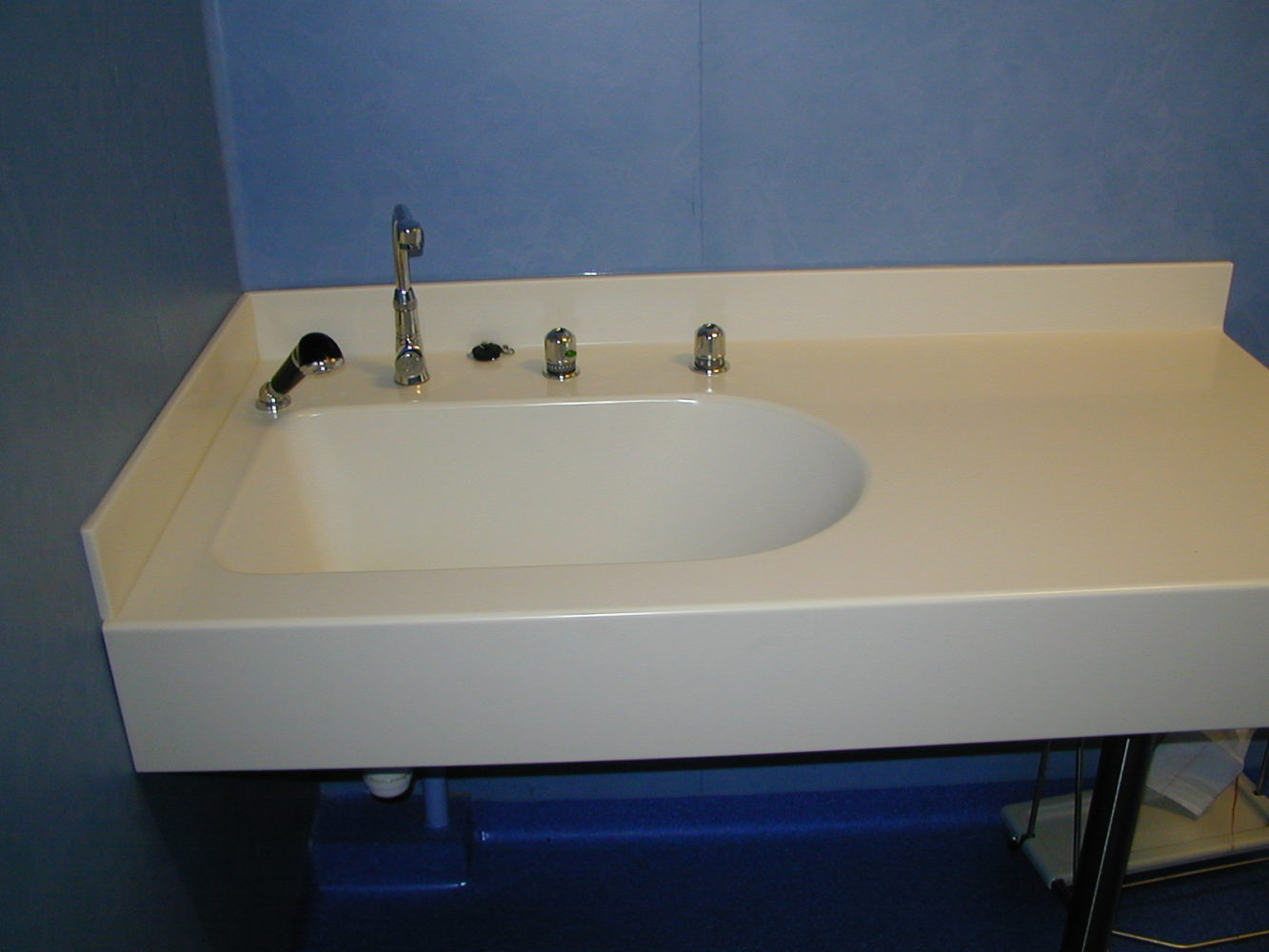 Plan vasque en Corian®