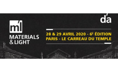 IMAGE exhibits at Materials & Light in Paris