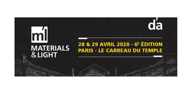 IMAGE exhibits at Materials & Light in Paris